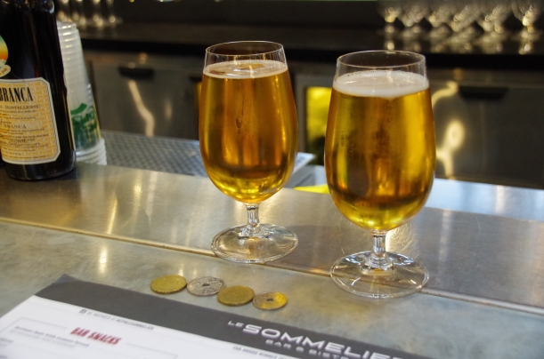 Are these the two most expensive beers in Europe?